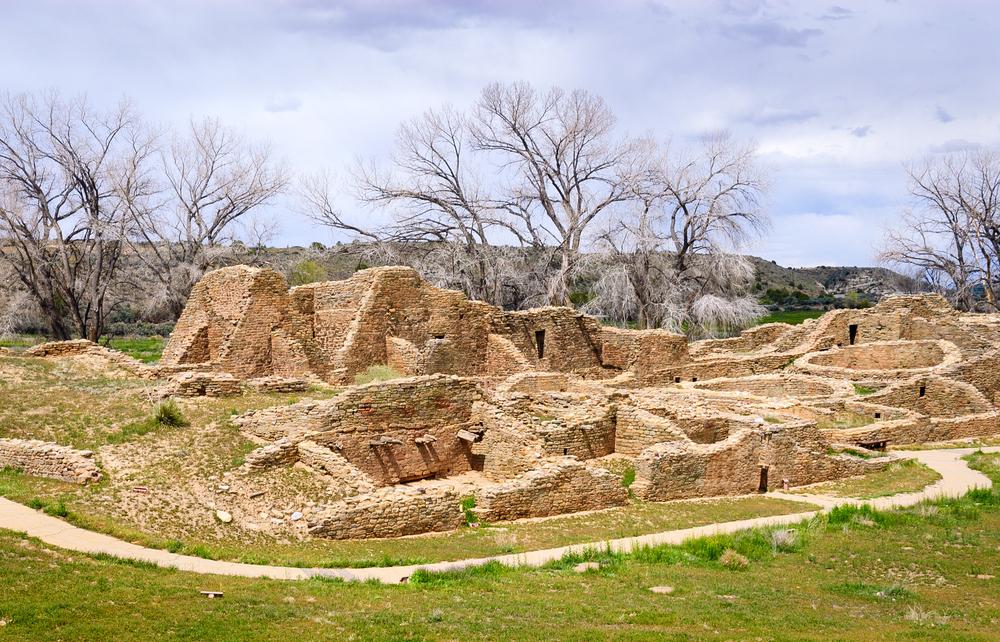 Aztec ruins national park.
