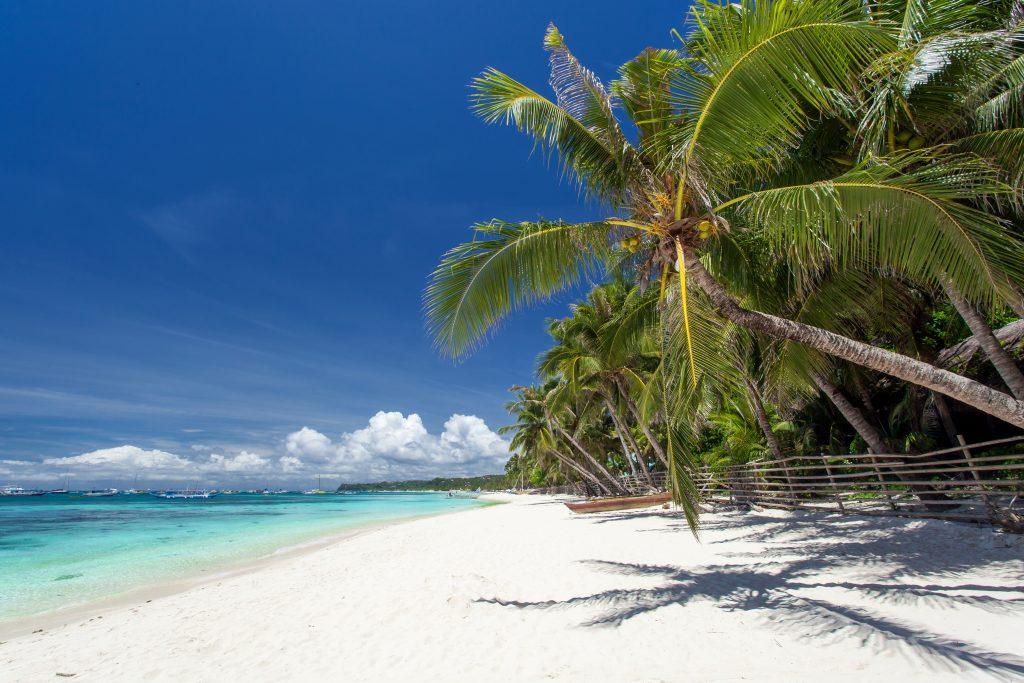 Caribbean Coast in Mexico.