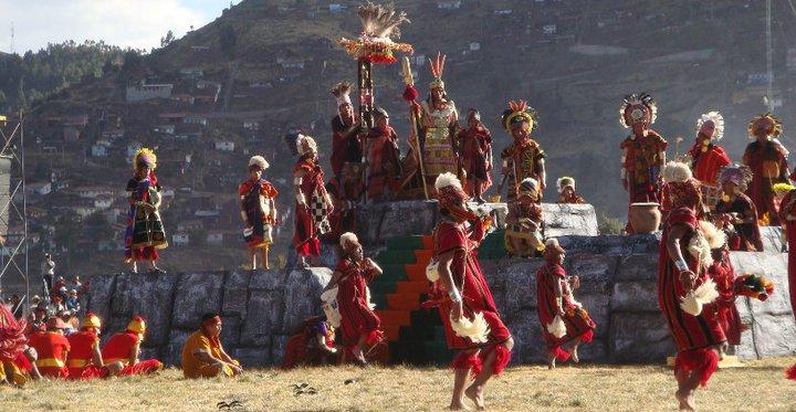 Inti Raymi Folklore in Peru