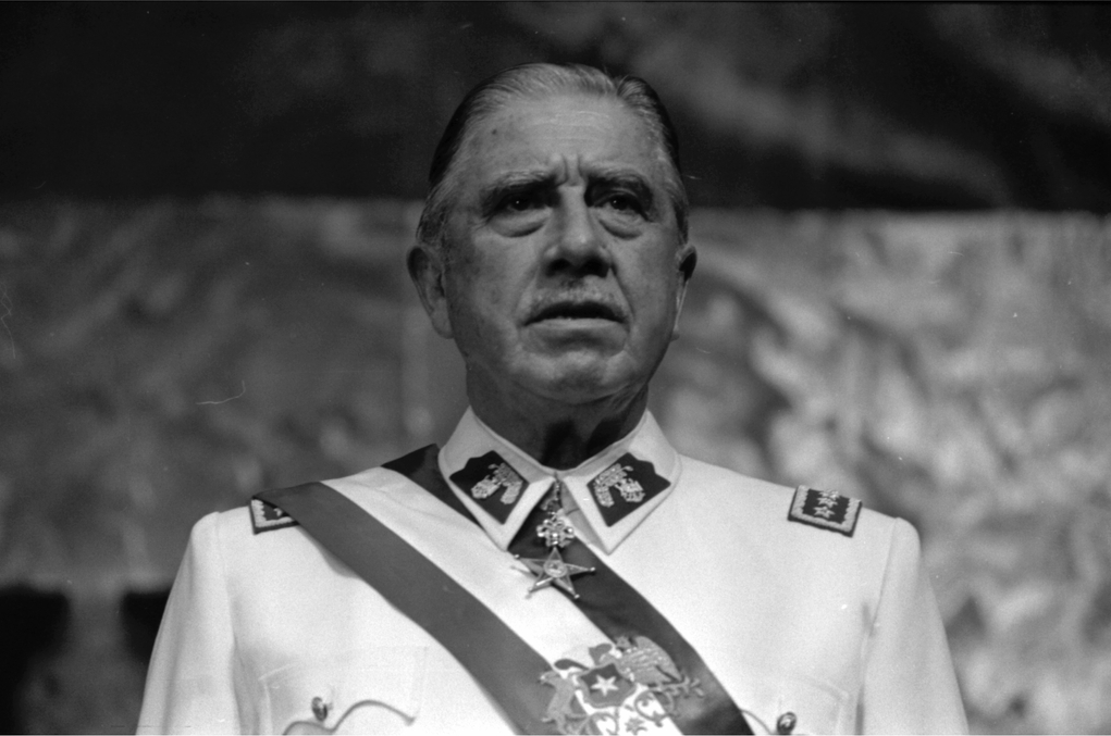 Influencial Augusto Pinochet.