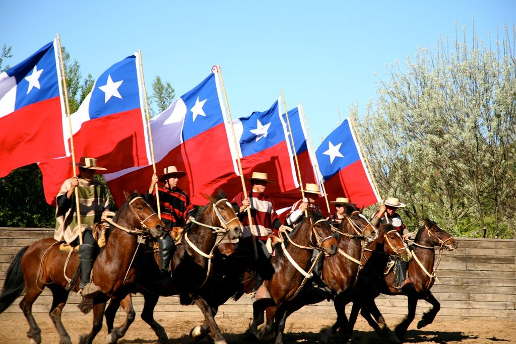 Fiestas Patrias or Independence day in Chile