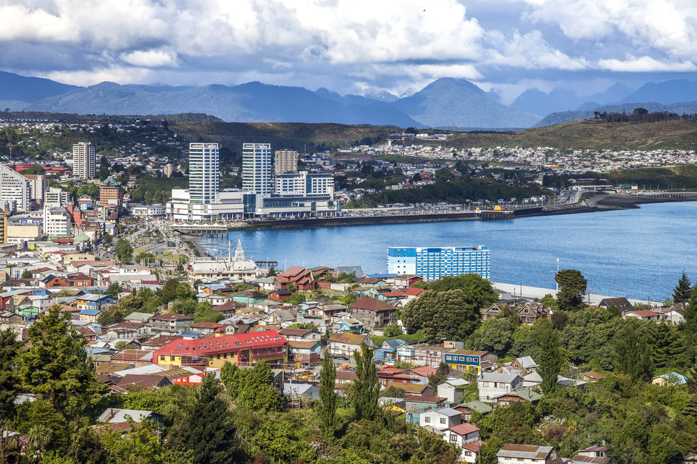 Puerto Montt in Chile where you can still find German influences