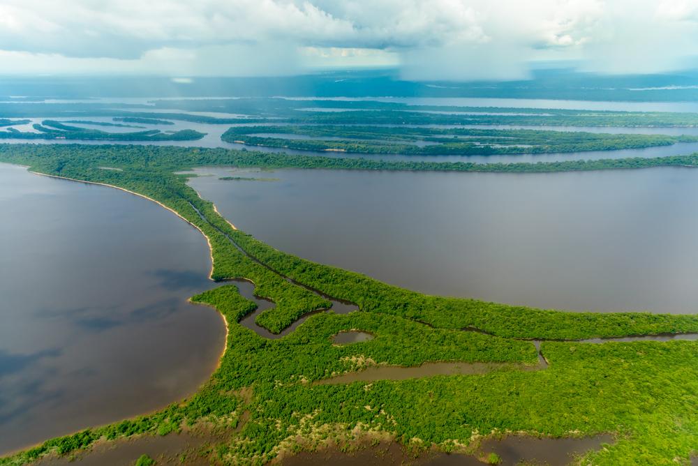 Amazing view of the Brazilian Amazon.