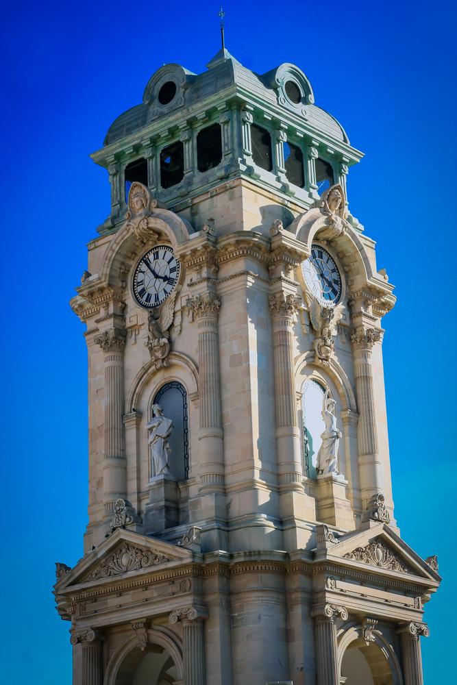 The Monumental Clock in Pachuca, Hidalgo