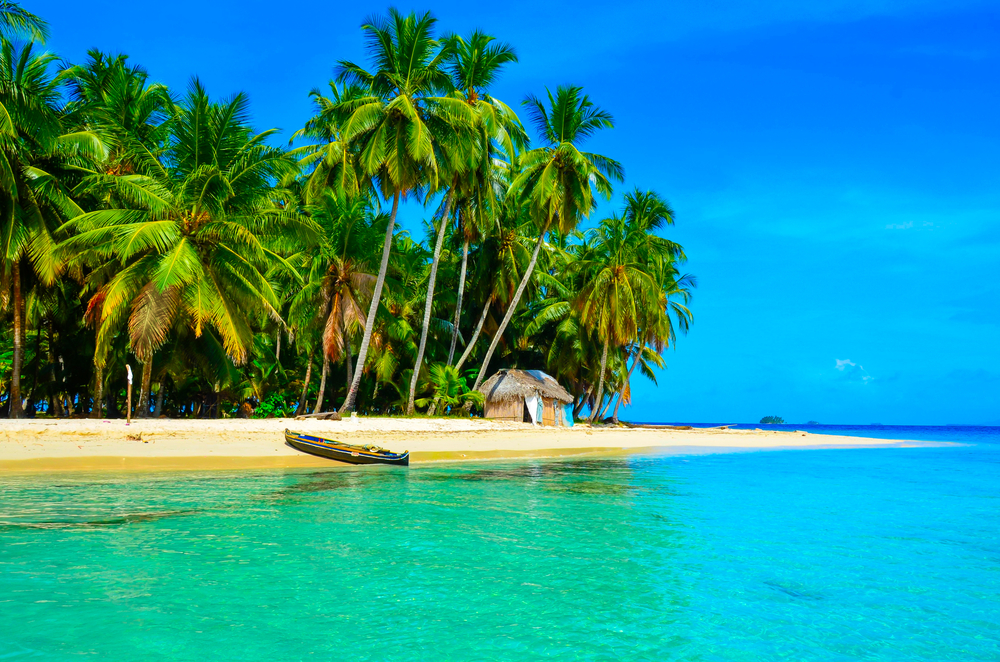 San Blas Islands in Panama in central america.
