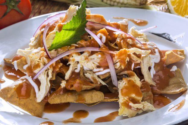 Chilaquiles de Mexico.