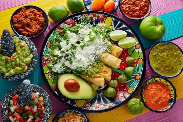 Enchiladas de Mexico.