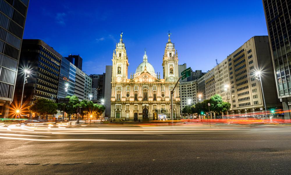 Candelaria Church in Rio de Janeiro.