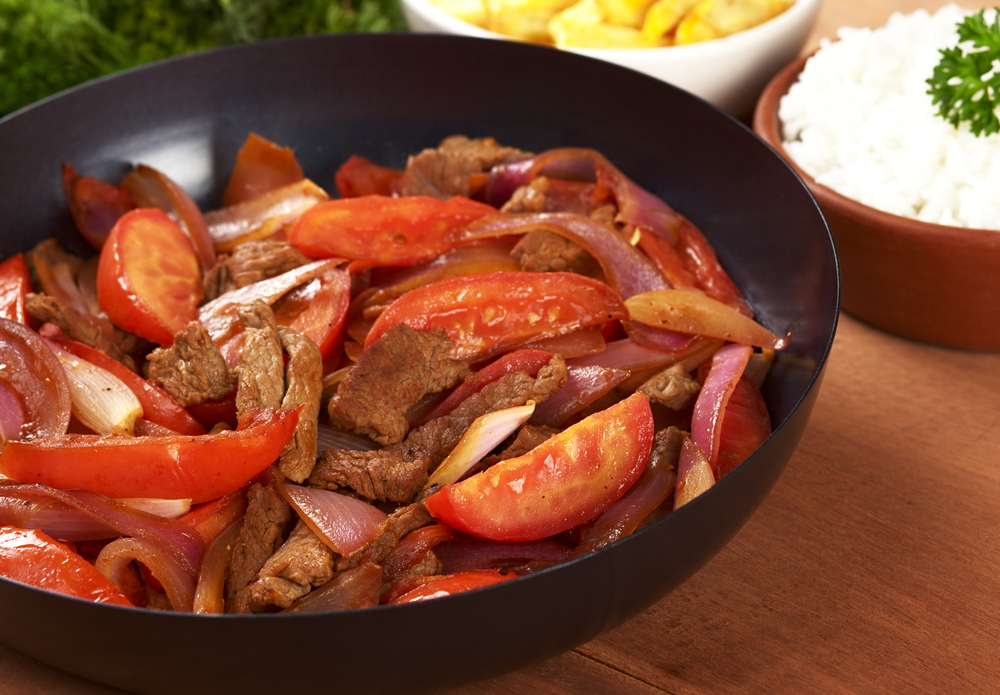 Lomo Saltado, typical Peruvian Cuisine