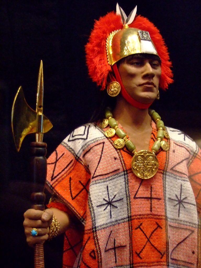 Inca ruler Atahualpa