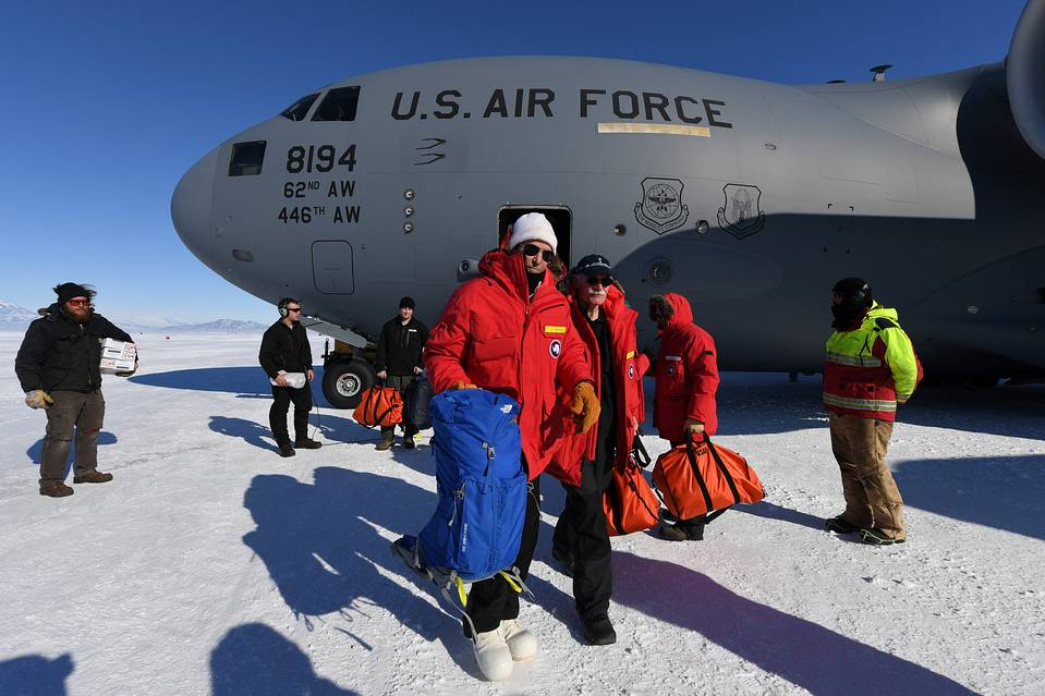 John Kerry visit to Antarctica