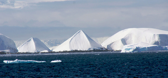 Scientist claims to possibly have found a pyramid in Antarctica.