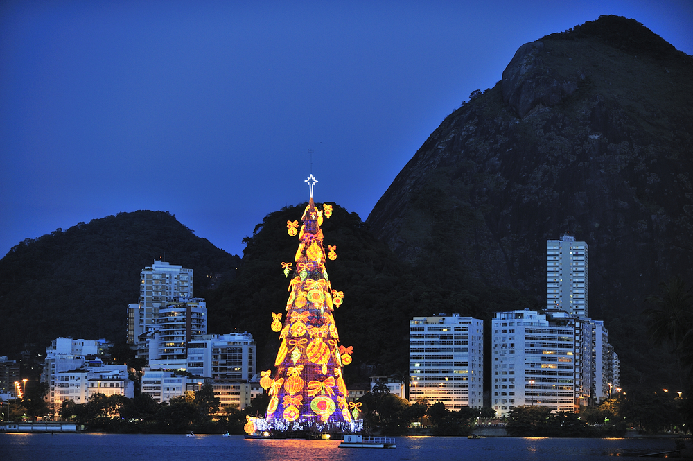 Christmas in South America.