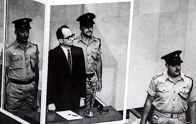 Eichmann on trial in Israel