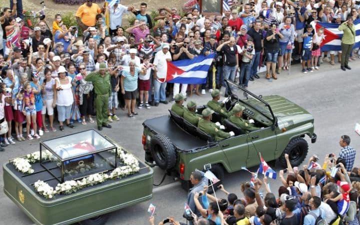 Funeral Fidel Castro.