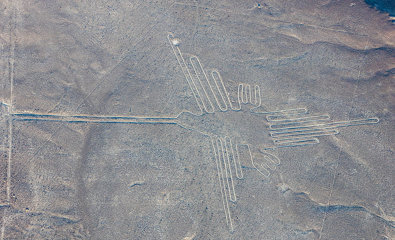 The Nazca Lines in Peru.