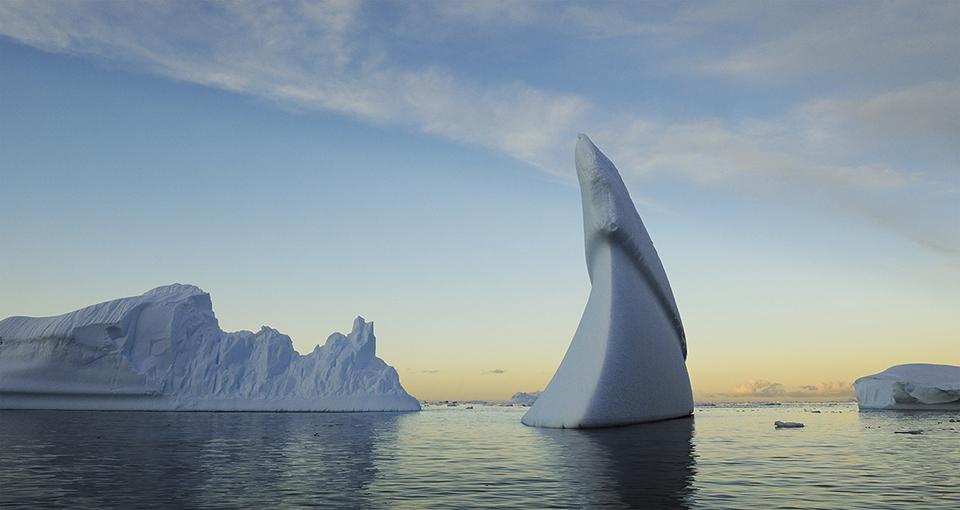 Lindblad Cove, Antarctic Peninsula, Antarctica.