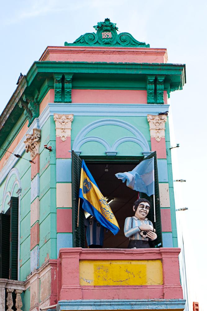 La Boca in Buenos Aires.