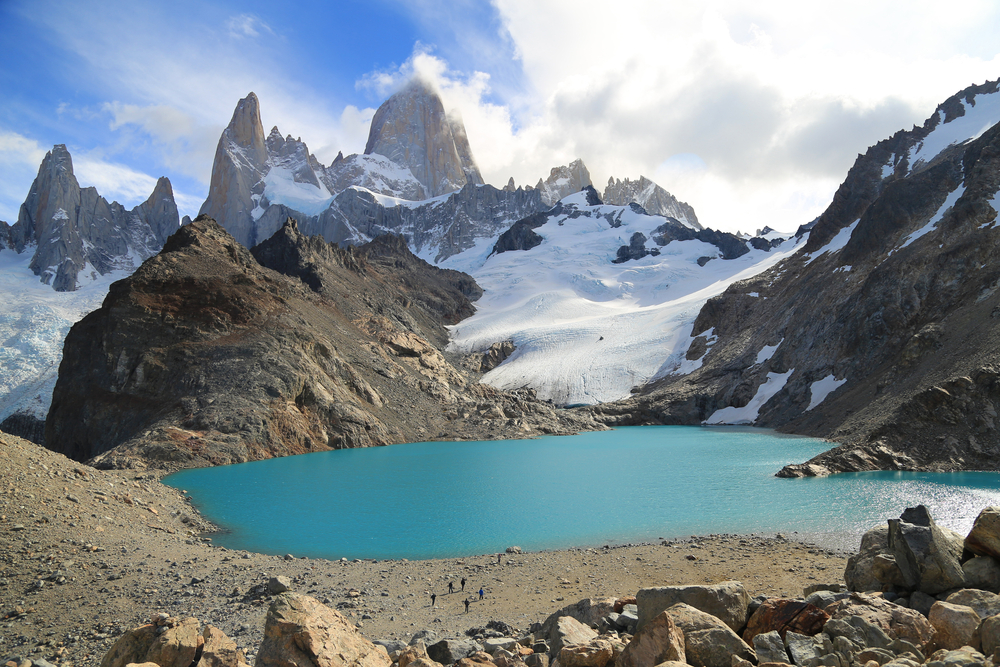 Los Tres Lagoons with brilliant views of Mt Fitz Roy