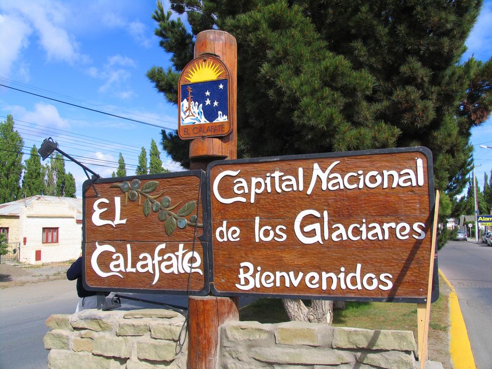 The picturesque welcome of El Chalten