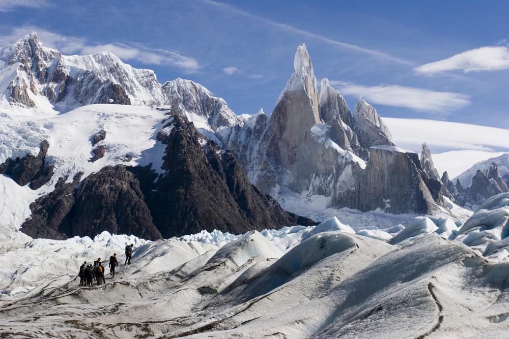 Trekking to the peaks of Cerro Torres