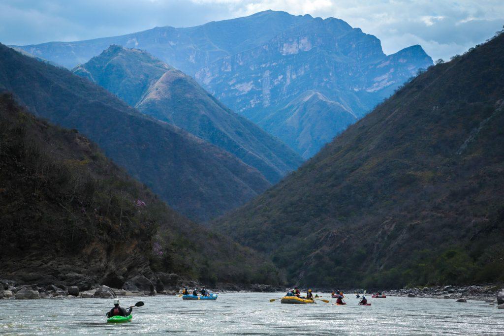 Rafting the Marañón River
