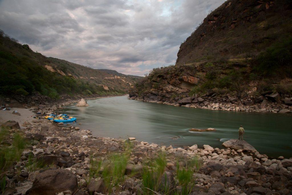 Evenings on the Marañón.