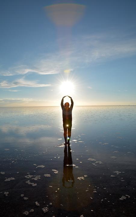 The Uyuni Salt Lake