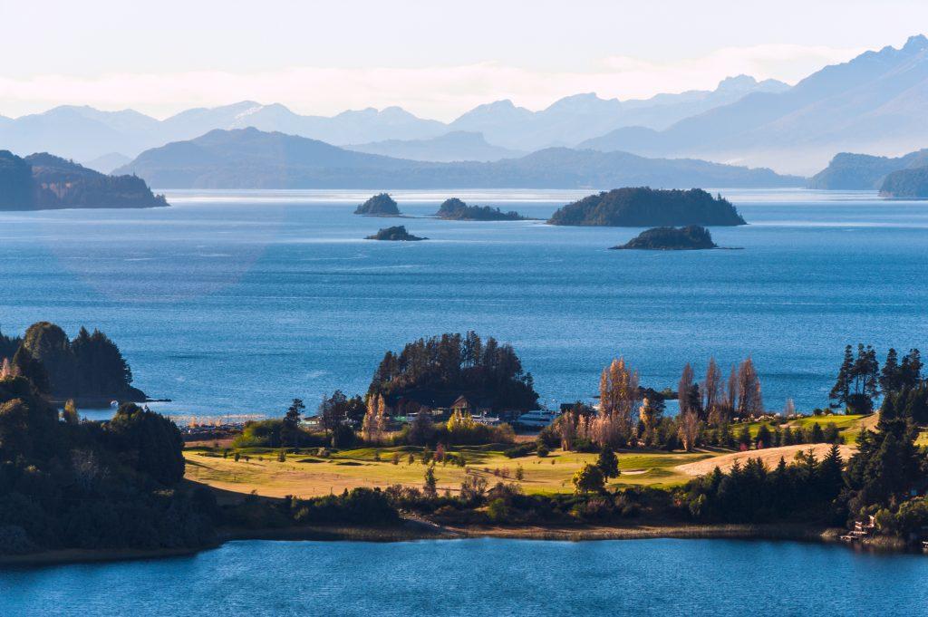 Nahuel huapi Lake in Patagonia