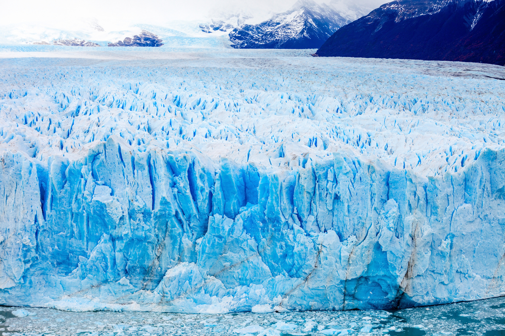 Close up view from Perito Moreno.