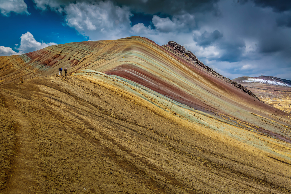 Amazing Rainbow Mountain.