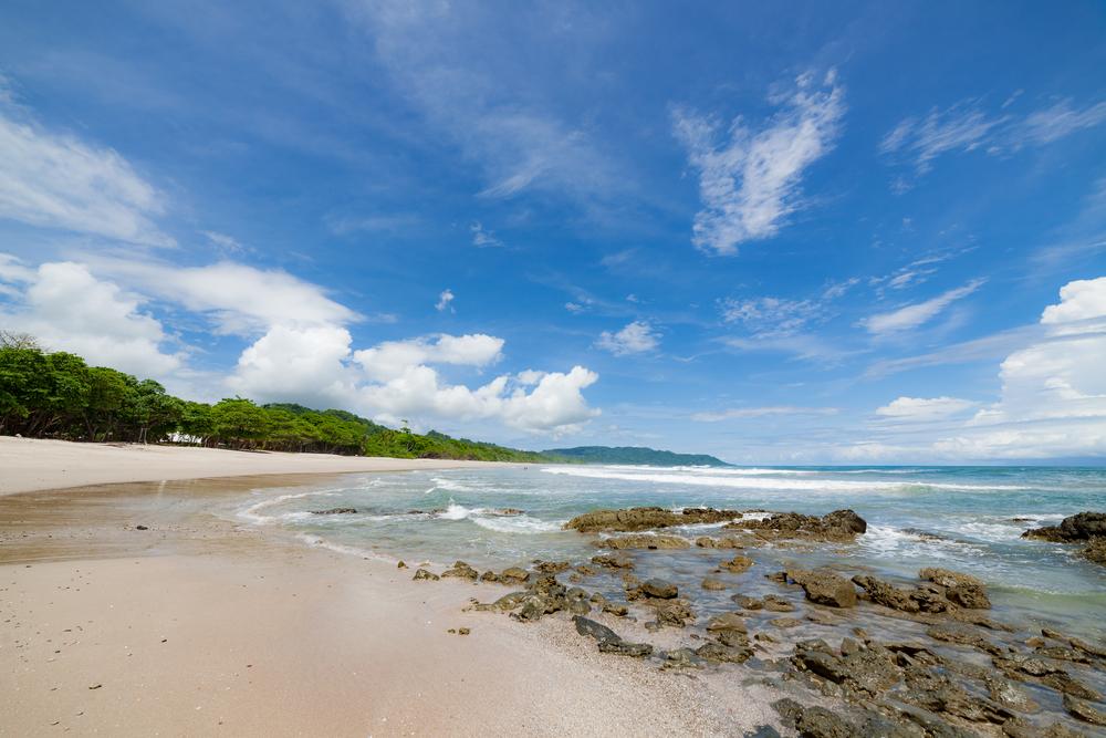 The picturesque beach of Santa Teresa.