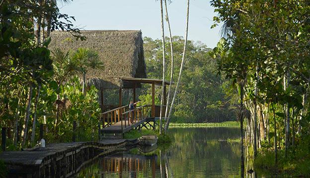 Sacha Lodge in the Ecuadorian Amazon