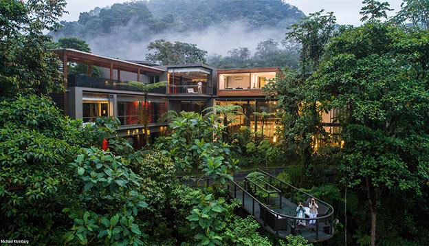 Mashpi Lodge - an Amazonian eco-lodge