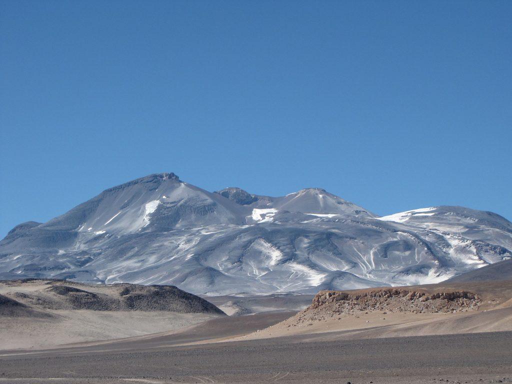 Ojos del Salado Volcano.