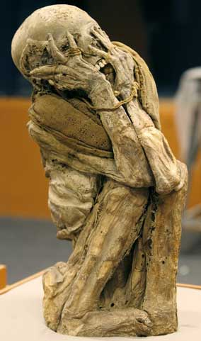 """Cloud people"", Chachapoya mummies."