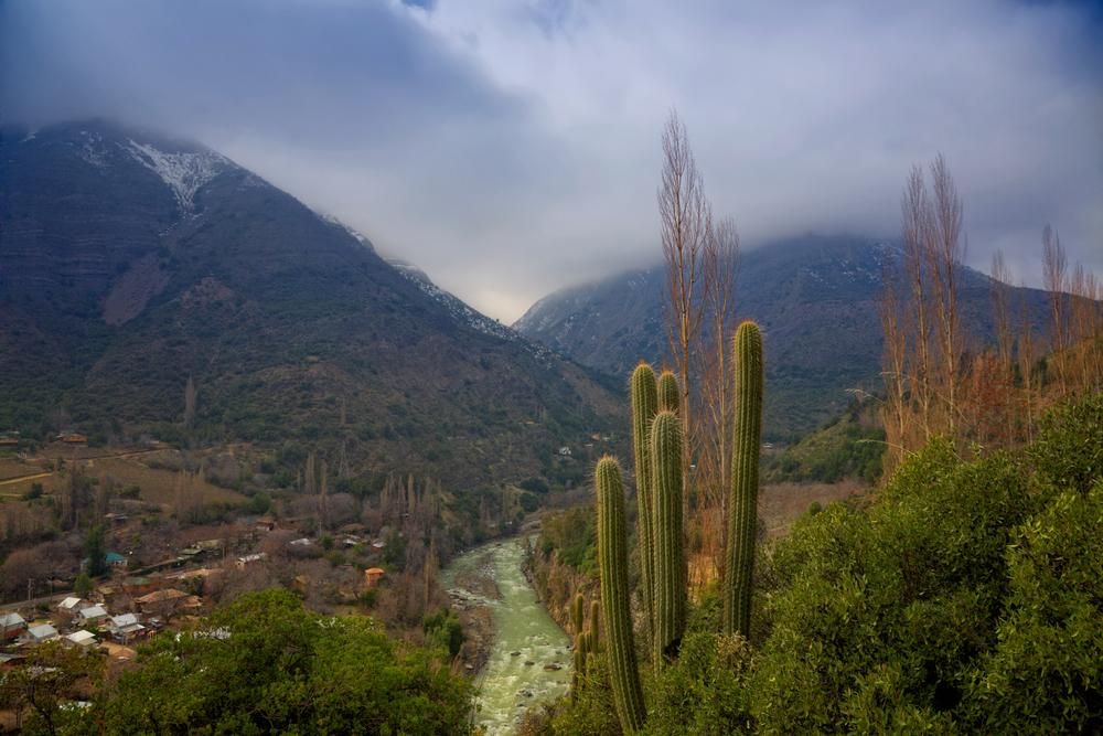 Cajon del Maipo, close to Santiago