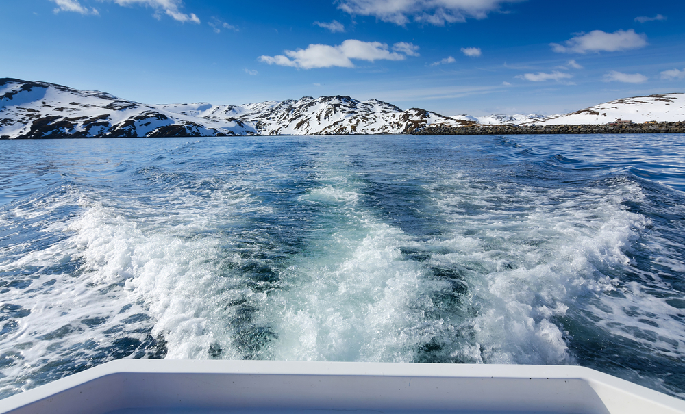 Crossing the Barents Sea.