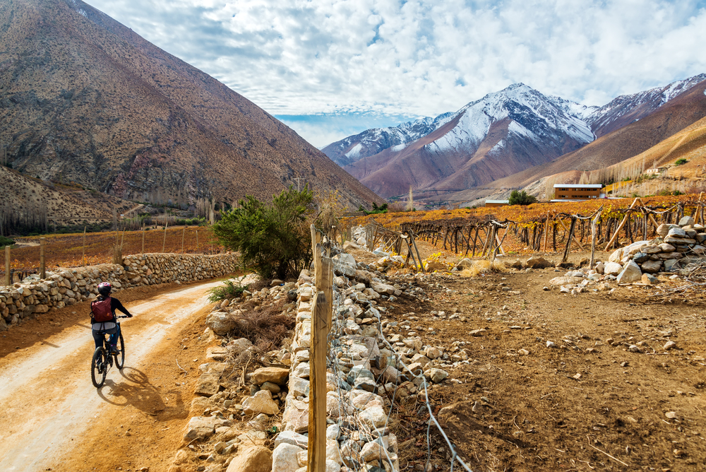 Mountain biking adventures in Chile's Elqui Valley