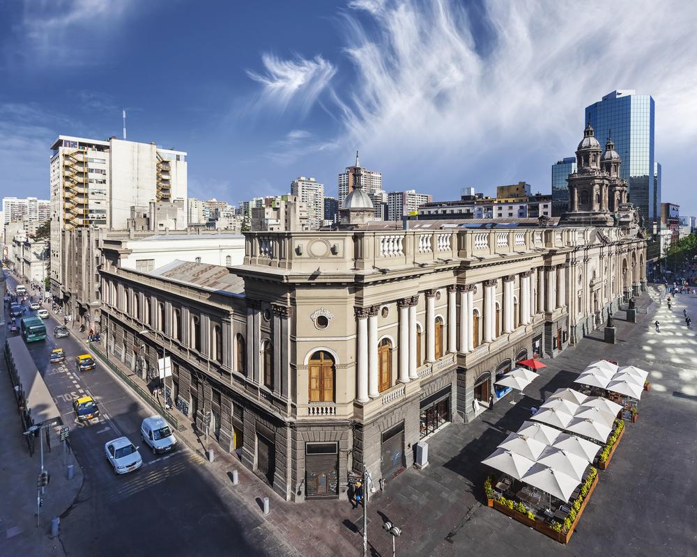 Santiago de Chile downtown.