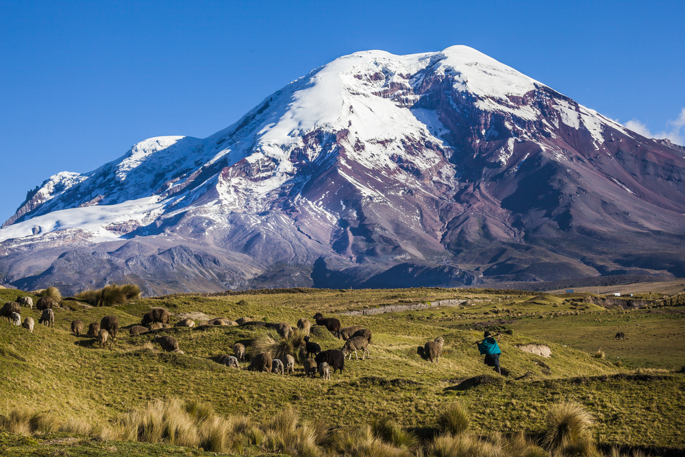 Mt Chimborazo, one of the most coveted mountaineering destinations in South America