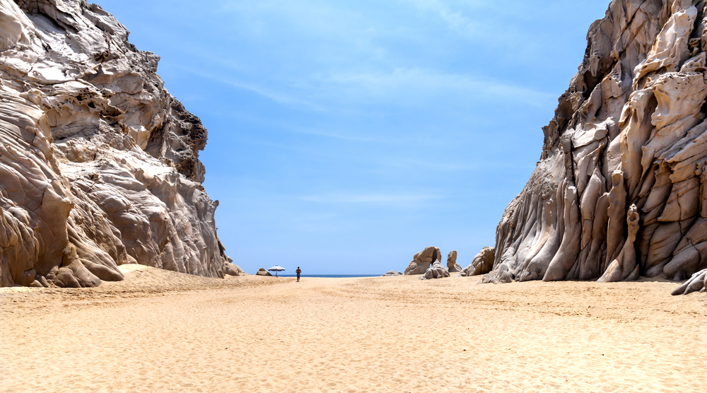 Baja California in Mexico.