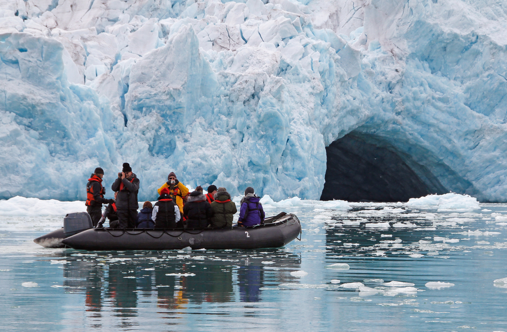 Zodiac adventures during an expedition