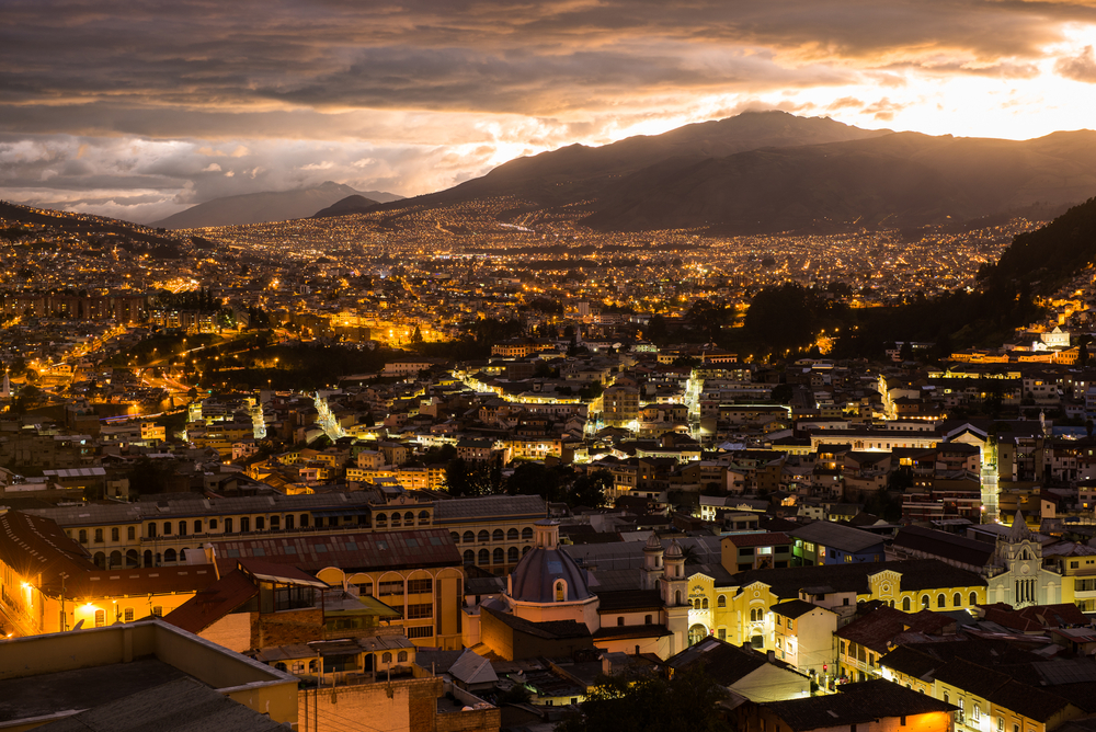Quito, one of the many vibrant cities set on Andean plateaus