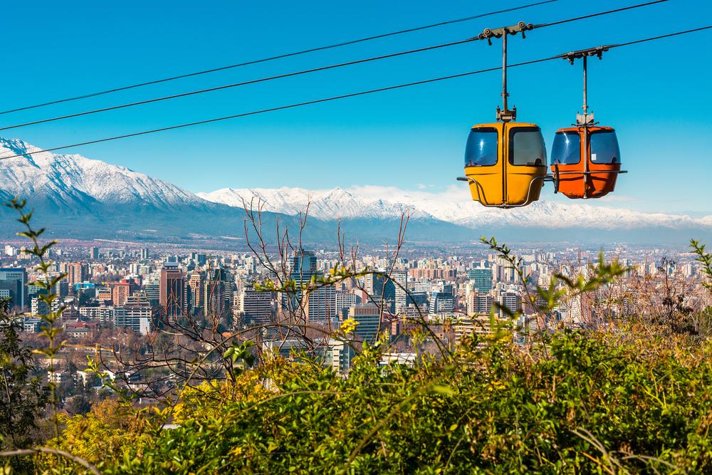 View of Santiago