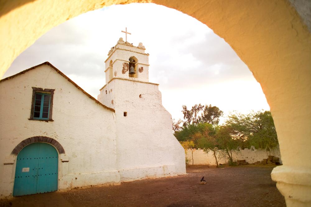 Church of San Pedro de Atacama.