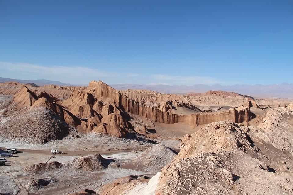 Valle de la Luna or The Valley of the Moon.