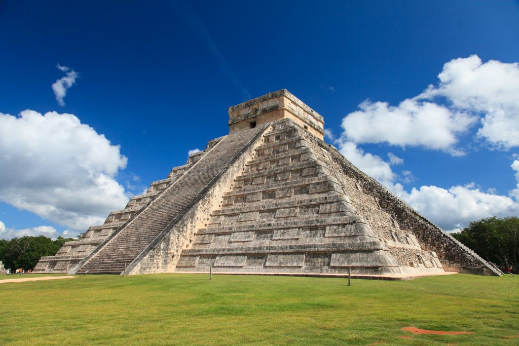 Chichen Itza in Yucutan, ancient ruin
