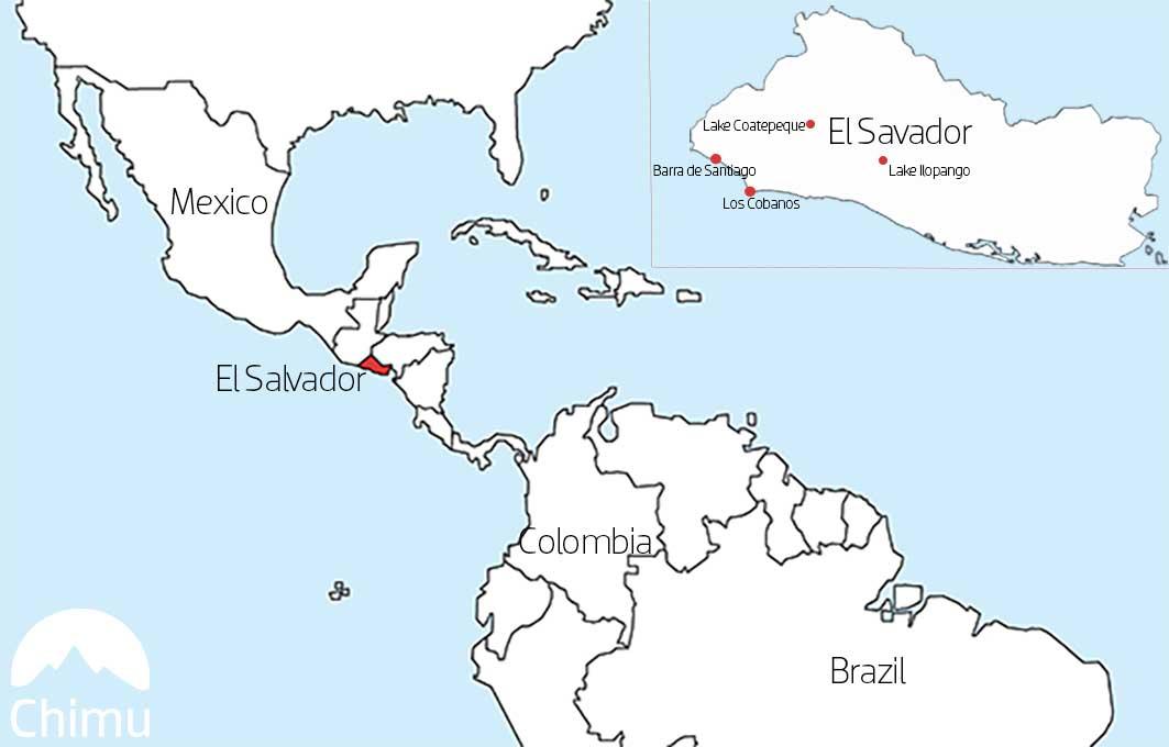 The Best Snorkel Spots in El Salvador U Spot Location