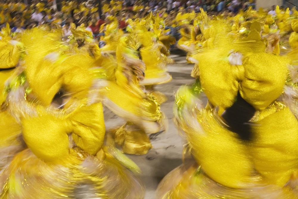 The Samba Parade: Sambadrome.
